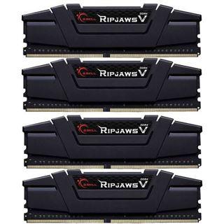 64GB G.Skill RipJaws V schwarz DDR4-2800 DIMM CL14 Quad Kit