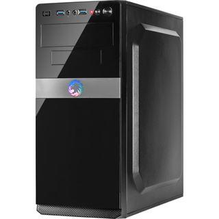 Inter-Tech IT-5908 Midi Tower ohne Netzteil schwarz