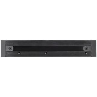 Silverstone SST-MS08B Hot Swap Drive Bay 3.5 Zoll zu 2.5 Zoll schwarz