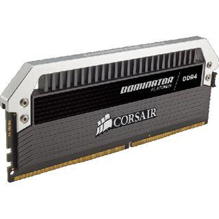 8GB Corsair Dominator Platinum DDR4-3466 DIMM CL18 Dual Kit