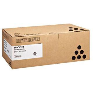 Ricoh 406765 Tonerpatrone,1 x Schwarz,2000 Seiten,für Aficio SP C220N,SP C240DN,SP C240SF