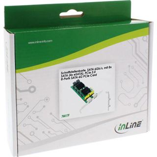 InLine 76617F 8 Port PCIe 2.0 x1 Low Profile retail