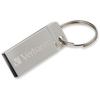 32 GB Verbatim Metal Executive silber USB 2.0