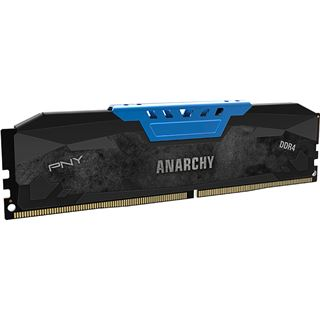 16GB PNY Anarchy blau DDR4-2400 DIMM CL15 Dual Kit
