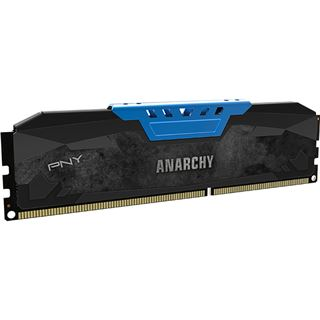 16GB PNY Anarchy blau DDR3-2133 DIMM CL10 Dual Kit