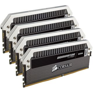 16GB Corsair Dominator Platinum DDR4-2400 DIMM CL10 Quad Kit