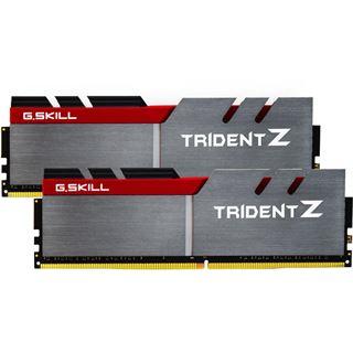 16GB G.Skill Trident Z silber/rot DDR4-3200 DIMM CL15 Dual Kit