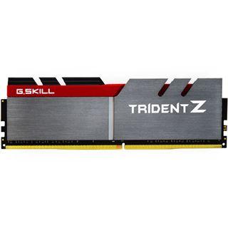 32GB G.Skill Trident Z silber/rot DDR4-3200 DIMM CL15 Quad Kit
