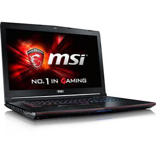 "Notebook 17.3"" (43,94cm) MSI GE72 6QE Apache Pro GE72-6QE16H21"