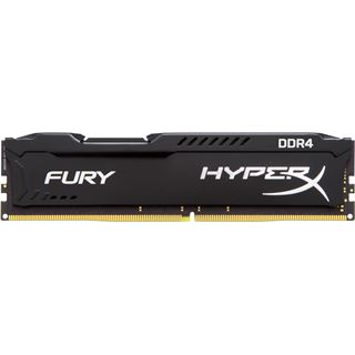 16GB HyperX FURY schwarz Single Rank DDR4-2400 DIMM CL15 Dual Kit
