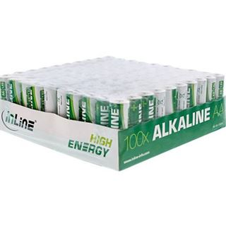 InLine Batterie High Energy 100er AA Tray