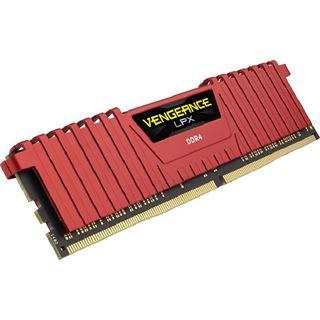 16GB Corsair Vengeance LPX rot DDR4-2400 DIMM CL16 Dual Kit