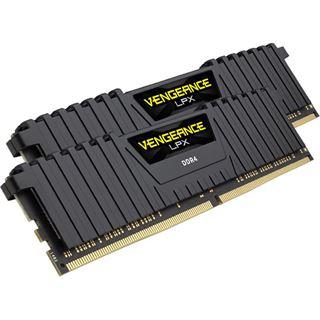 16GB Corsair Vengeance LPX schwarz DDR4-3600 DIMM CL18 Dual Kit