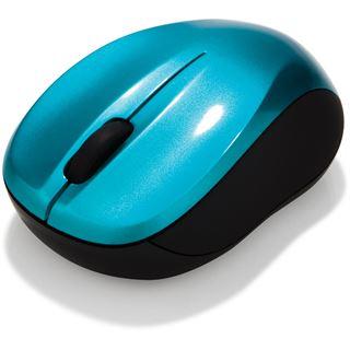 Verbatim Go Nano-Maus USB blau (kabellos)