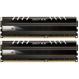 8GB Avexir Core Series red LED DDR3-1600 DIMM CL11 Dual Kit