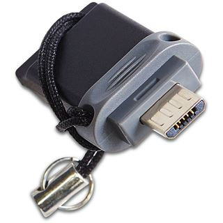 32 GB Verbatim schwarz USB 2.0 und microUSB