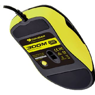 Cougar 300M Optical Gaming USB schwarz/gelb (kabelgebunden)