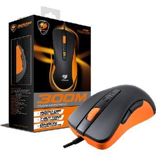 Cougar 300M Optical Gaming USB schwarz/orange (kabelgebunden)