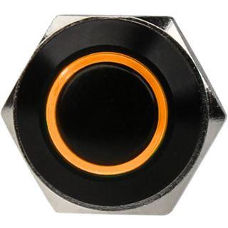 DimasTech Vandalismustaster 16mm - Blackline - orange