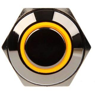 DimasTech Vandalismusschalter/-taster 16mm - Silverline - gelb