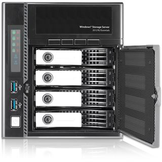 Thecus WindowsStorage W4000+ 4bay Desktop-NAS 4GB RAM