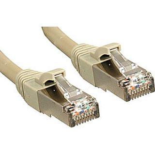 (€15,80*/1m) 0.50m Lindy Cat. 6 Patchkabel S/FTP RJ45 Stecker auf RJ45 Stecker Grau geschirmt/vergoldet