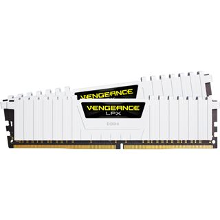 16GB Corsair Vengeance LPX weiß DDR4-3200 DIMM CL16 Dual Kit