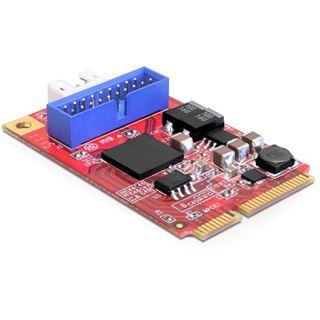 Delock Mini PCI Express Card 1x USB3.0 Pin Header int
