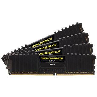 64GB Corsair Vengeance LPX schwarz DDR4-2400 DIMM CL16 Quad Kit