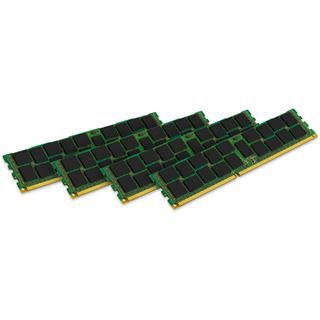 64GB Kingston KVR24R17D4K4/64 DDR4-2400 regECC DIMM CL17 Quad Kit
