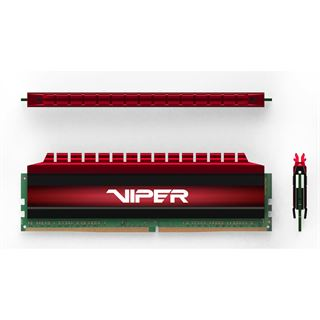 16GB Patriot Viper 4 rot DDR4-2800 DIMM CL16 Dual Kit