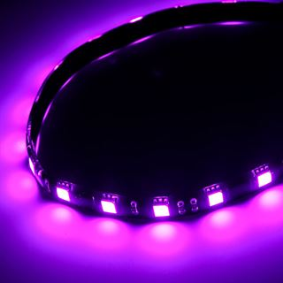 BitFenix Alchemy 2.0 Magnetic LED-Strip - 30cm, 15 LEDs, violett