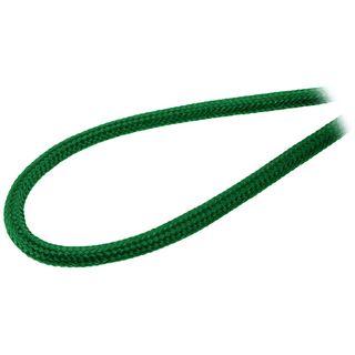 BitFenix 2-Pin I/O-Panel Verlängerung 30cm - sleeved grün/schwarz