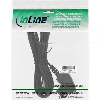 (€0,33*/1m) 15.00m InLine TAE-F Anschlusskabel TAE-F Stecker auf RJ45 Stecker Schwarz