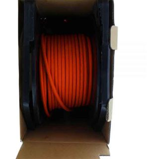 (€1,15*/1m) 100.00m InLine Cat. 7a Rohkabel Verlegekabel S/FTP PiMF 1200MHz Orange halogenfrei