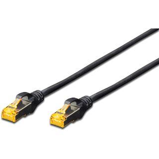 (€1,27*/1m) 7.00m Digitus Cat. 6a Patchkabel S/FTP RJ45 Stecker auf RJ45 Stecker Schwarz