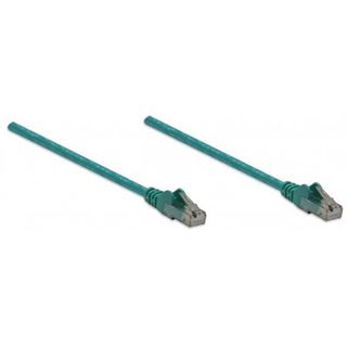 (€0,98*/1m) 5.00m Intellinet Cat. 6 Patchkabel U/UTP RJ45 Stecker auf RJ45 Stecker Grün