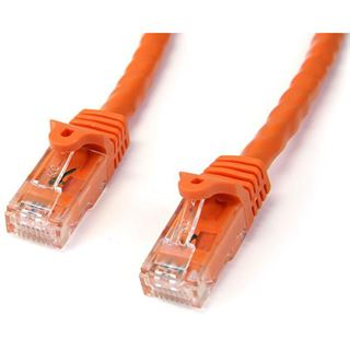 (€2,30*/1m) 3.00m Startech Cat. 6 Patchkabel U/UTP RJ45 Stecker auf RJ45 Stecker Orange