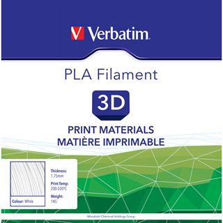 Verbatim Filament 3D Drucker 1.75mm 1kg weiß