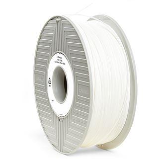 Verbatim Filament 3D Drucker 1.75mm 750g weiß