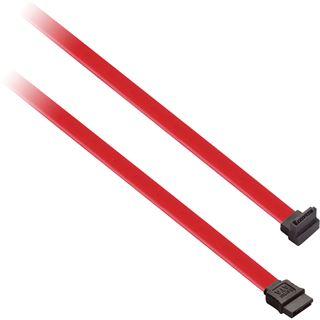 (€2,45*/1m) 2.00m V7 SATA 3Gb/s Anschlusskabel SATA Stecker auf SATA Stecker Schwarz/Rot