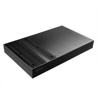 Akasa Galileo OEM Mini-ITX ohne Netzteil schwarz