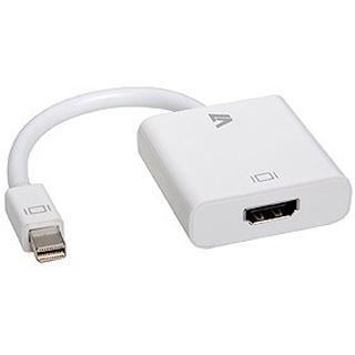 V7 Displayport Adapter Mini Displayport Stecker auf HDMI-Buchse Weiß