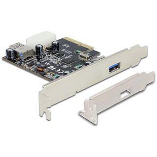 Delock PCIe USB 3.1 1+1 Port inkl. LP ASmedia