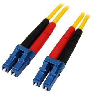 (€17,90*/1m) 1.00m Startech LWL Duplex Patchkabel 62,5/125 µm OM1 LC Stecker auf LC Stecker Gelb