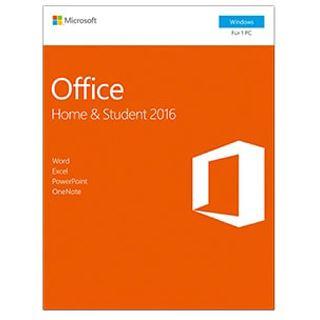 Microsoft Office 2016 Home & Student Deutsch PKC