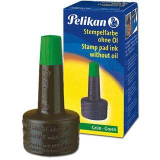 Pelikan Stempelfarbe 28ml Grün, Kunststoffflasche