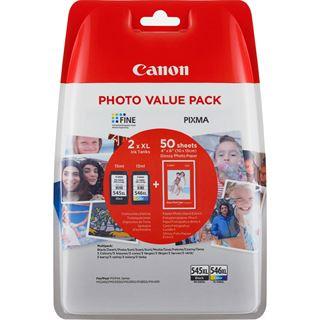 Canon Tinte PG-545XL/CL-546XL 8286B006 schwarz