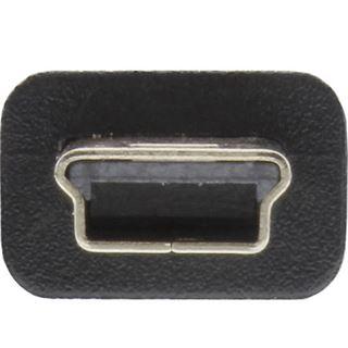 (€2,60*/1m) 1.50m InLine USB2.0 Verbindungskabel USB A Stecker auf USB miniB Stecker Schwarz