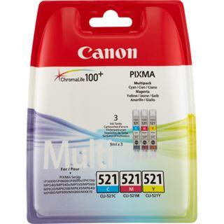 Canon Tinte CLI-521 2933B010 farbig